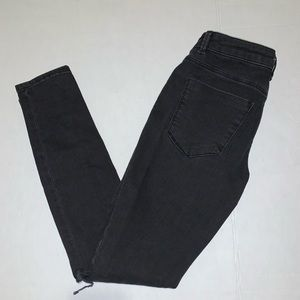ASOS black denim jeans